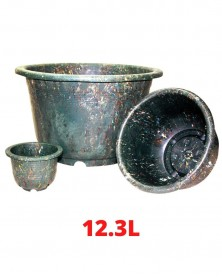 Pot vert 12.3L